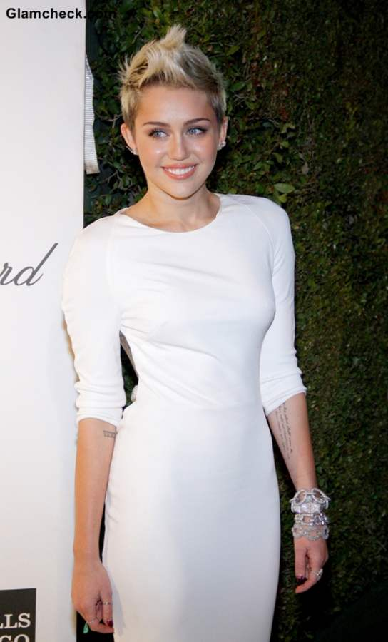 Miley Cyrus hairstyle 2013 pixie