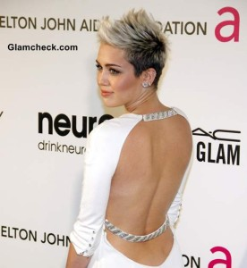 Miley Cyrus pixie hairstyle 2013