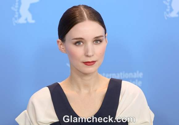 Rooney Mara Offbeat in Balenciaga at Side Effects Press Conference