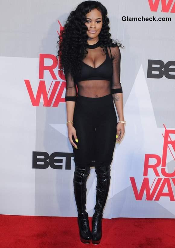 Teyana Taylor at the BET Rip the Runway 2013
