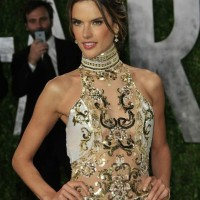 Alessandra Ambrosio at the Vanity Fair Oscar Party 2013