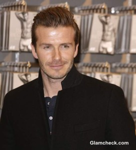 David Beckham Promotes Bodywear for H&M in Germany