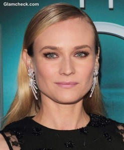 "Diane Kruger Titillates in Sheer-panelled Dress at ""The Host"" Premiere"