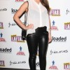 Lucy Pinder in black and white Outfit at Laftas Comedy Awards 2013