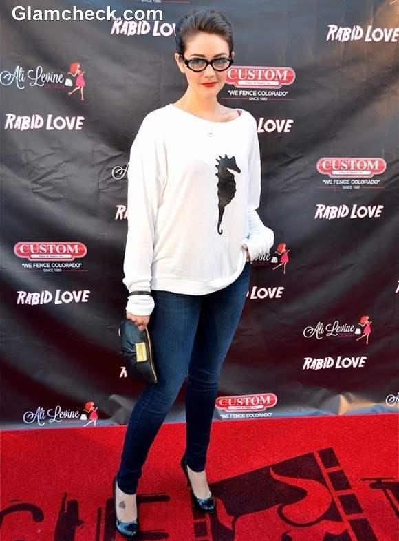 Toni Wynne 2013 at Rabid Love LA Premiere