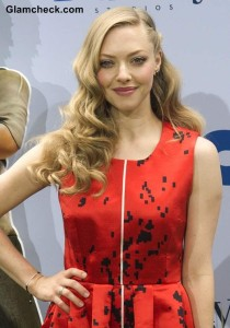 Amanda Seyfried Curly hairstyle 2013 Epic NYC Premiere