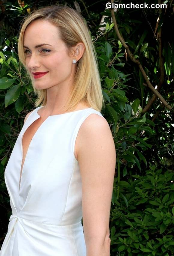 Amber Valletta at Mothers Day Lunch 2013