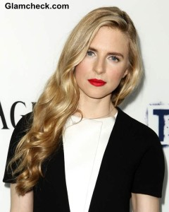 "Brit Marling Goes Monochrome in Balenciaga at ""The East"" LA Premiere"