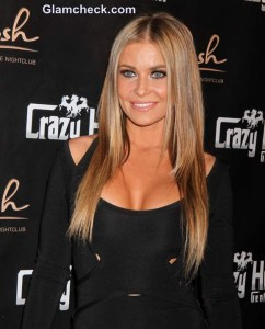 Carmen Electra Wows in Figure-hugging LBD at 41st B'Day Bash