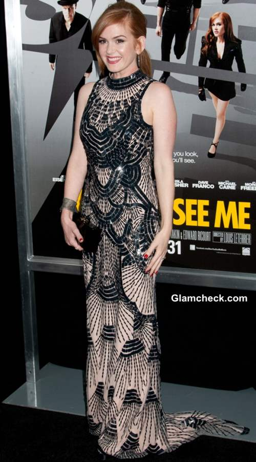 Isla Fisher Dress at Now You See Me NYC Premiere