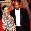 Kim Kardashian baby bump 2013 with Kanye West