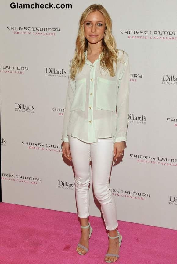 Kristin Cavallari 2013 Promotes Chinese Laundry Shoe Line