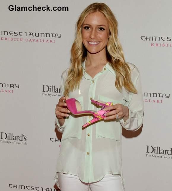 Kristin Cavallari Promotes Chinese Laundry Shoe Line