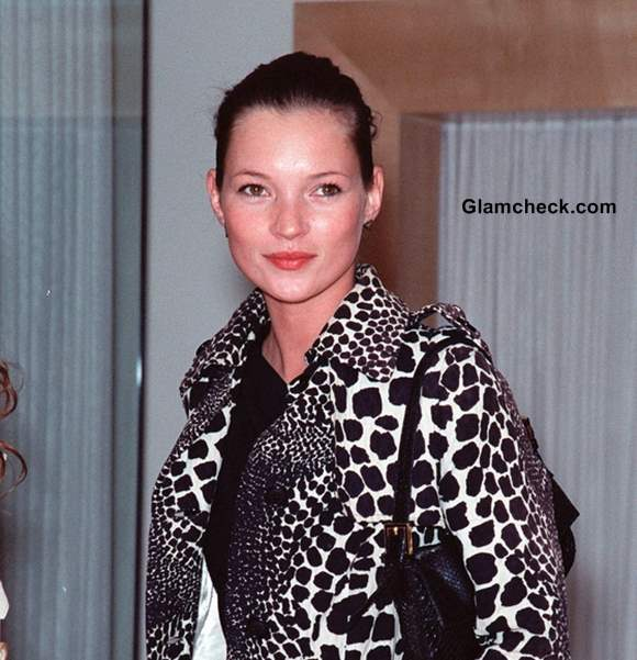 Alexander McQueen Signs on Kate Moss