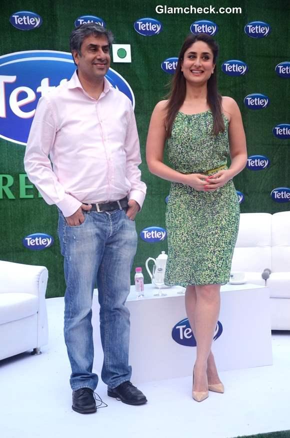 Kareena Kapoor Named Ambassador of Tetley Green Tea