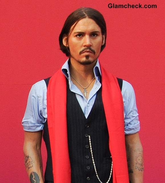 Johnny Depp Wax Statue Unveiled in Ahead of Museum Opening