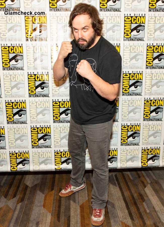 Angus Sampson at Nightflyers Comic-Con 2018