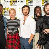 Celebrities at Nightflyers Comic-Con 2018