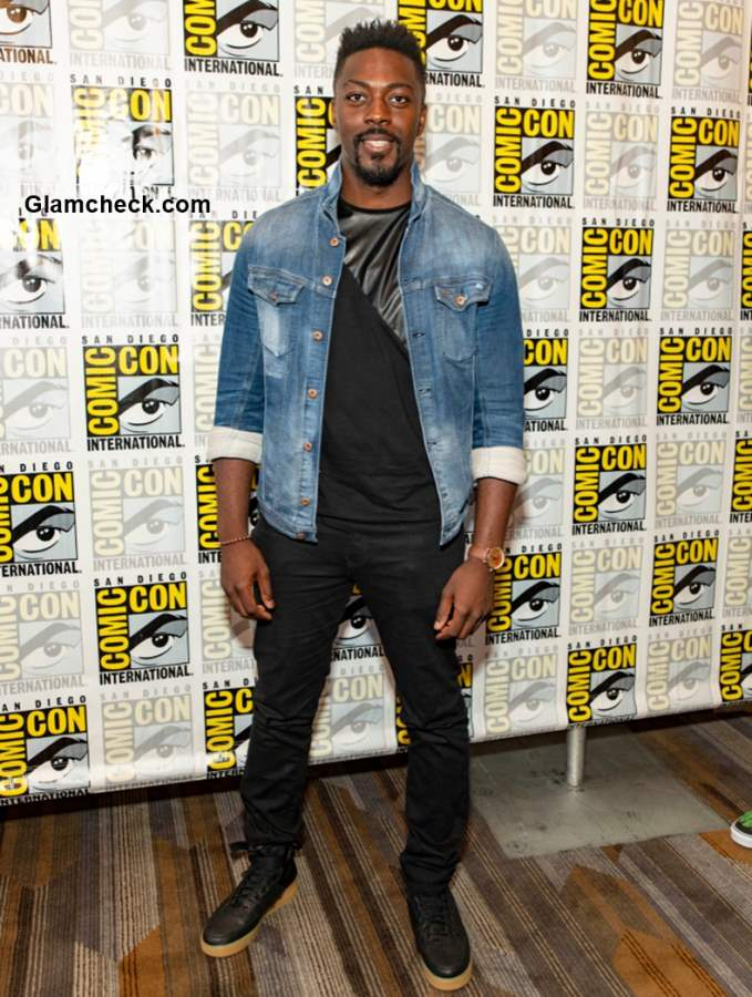 David Ajala at Nightflyers Comic-Con 2018