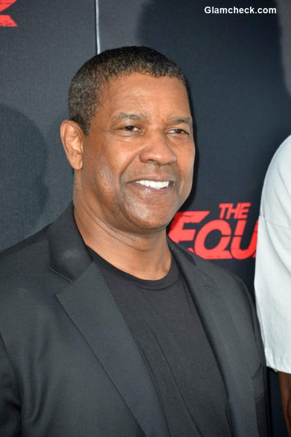 Denzel Washington at The Equalizer 2 Premiere
