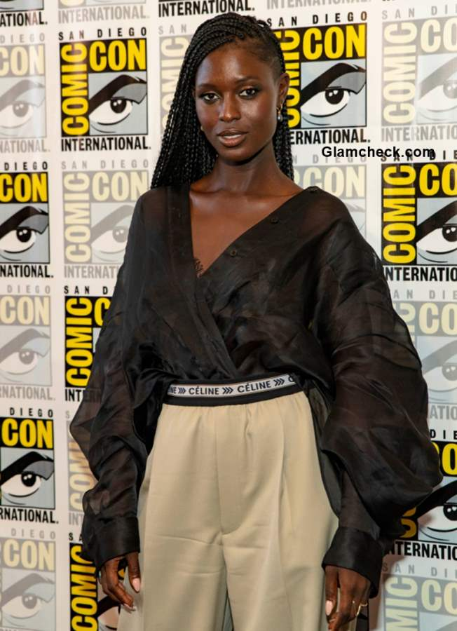 Jodie Turner-Smith at Nightflyers Comic-Con 2018