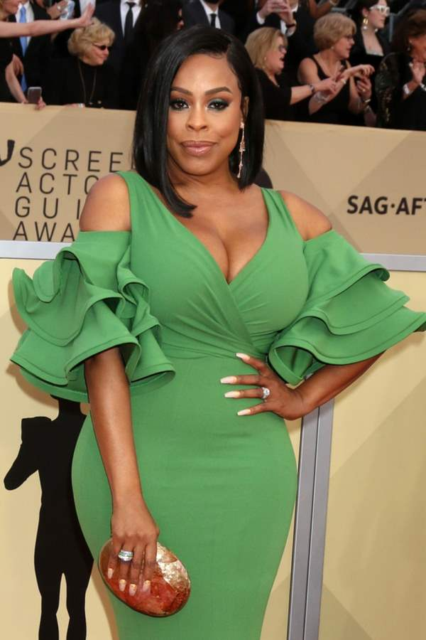 Niecy Nash Honored star Hollywood Walk of Fame
