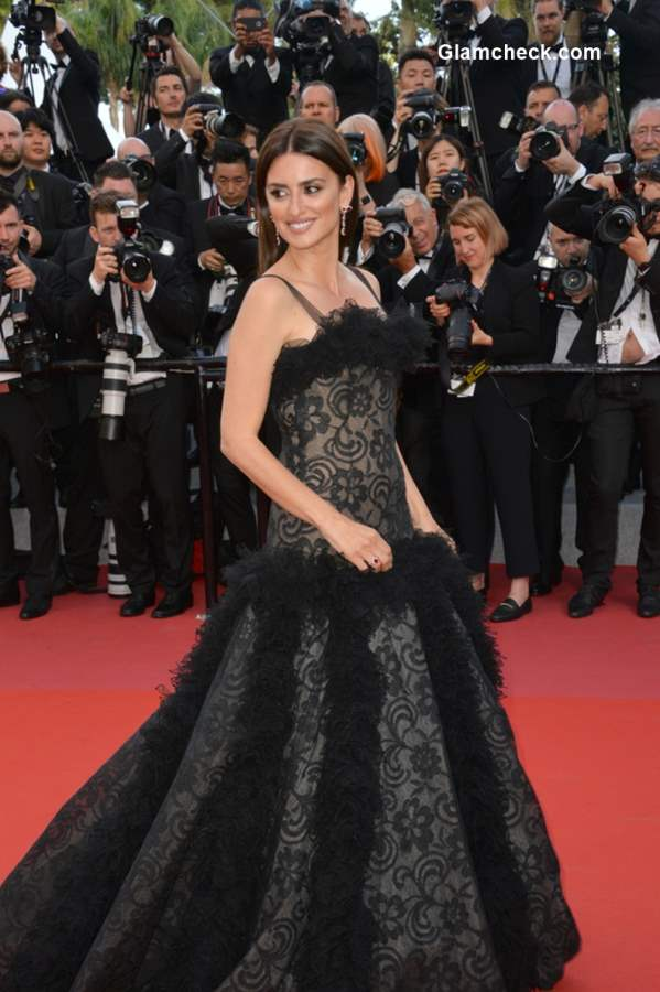 Penelope Cruz at Cannes 2018 wearing Atelier Swarovski Jewelry Collection