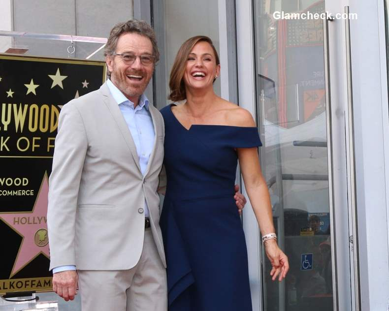 Bryan Cranston with Jennifer Garner