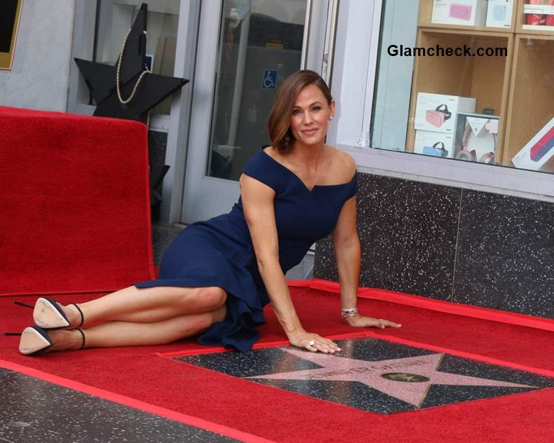 Jennifer Garner Honoured with Star of Fame