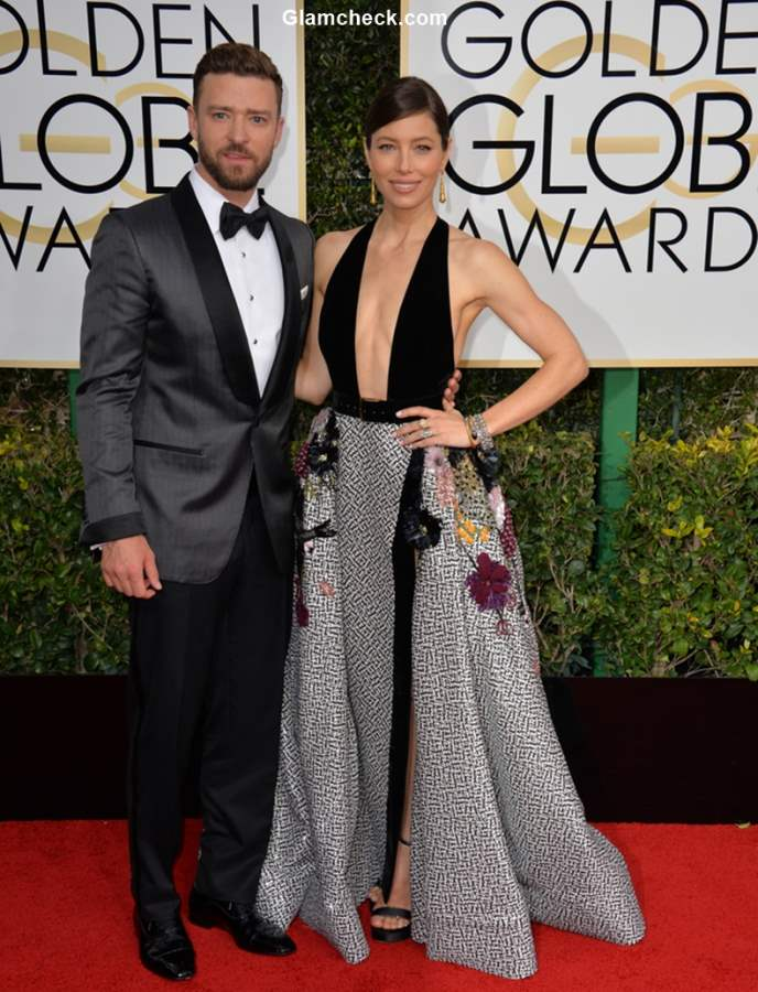 Justin Timberlake and Jessica Beil