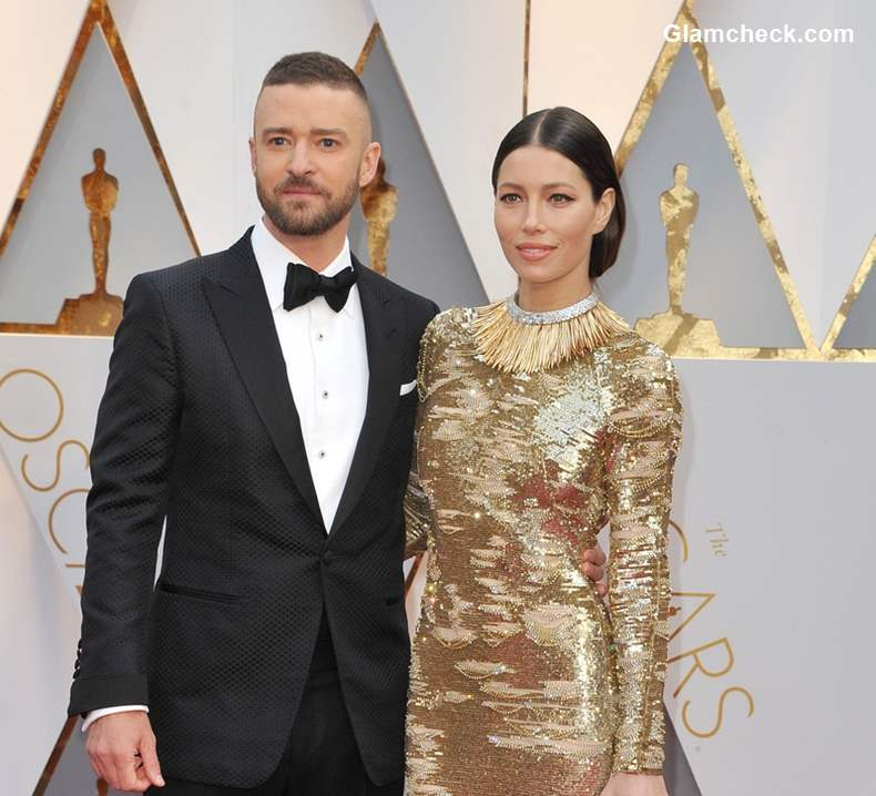 Justin Timberlake with wife Jessica Biel
