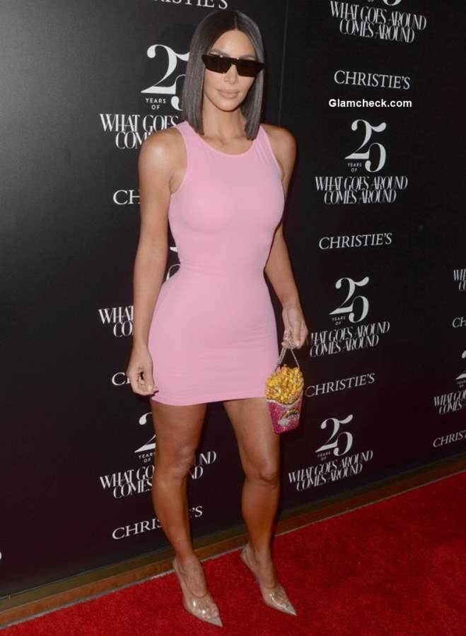 Kim Kardashian at 25th Anniversary of What Goes Around Comes Around