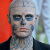 Rick Genest The Zombie Boy Dies at 32