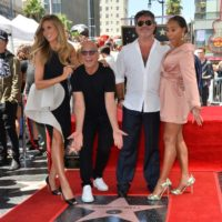 Simon Cowell Honoured with a Star at Hollywood Walk of Fame
