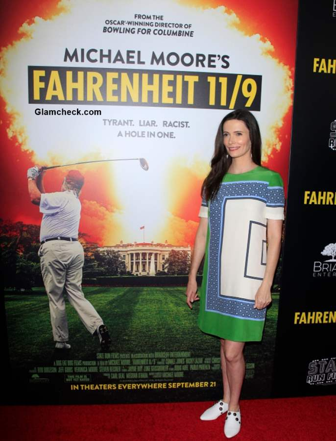 Bitsie Tulloch 2018 at Los Angeles premiere Fahrenheit 119