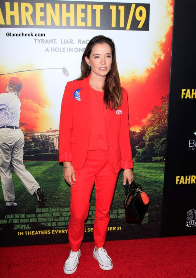 Iana Turner 2018 at Los Angeles premiere Fahrenheit 119