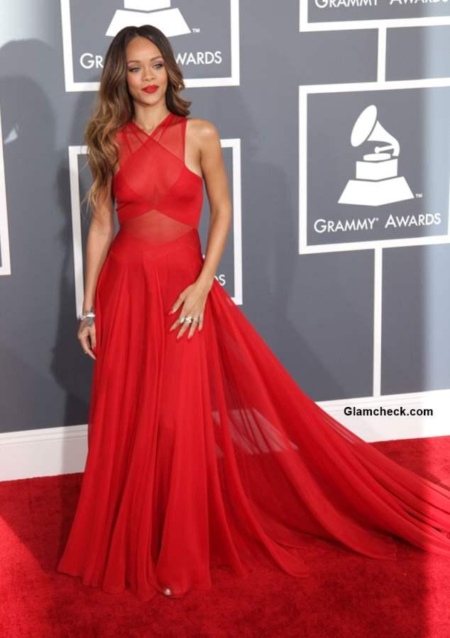 Rihanna at Grammy Awards