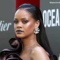 Rihanna attends the premiere Oceans 8