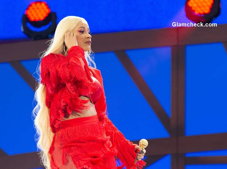 Cardi B Performs at 218 Global Citizen Festival