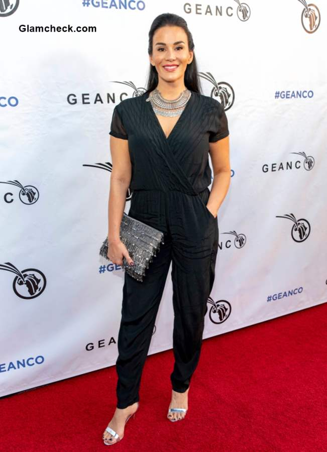 Christina Cindrich at 2018 Geanco Foundation Hollywood Gala