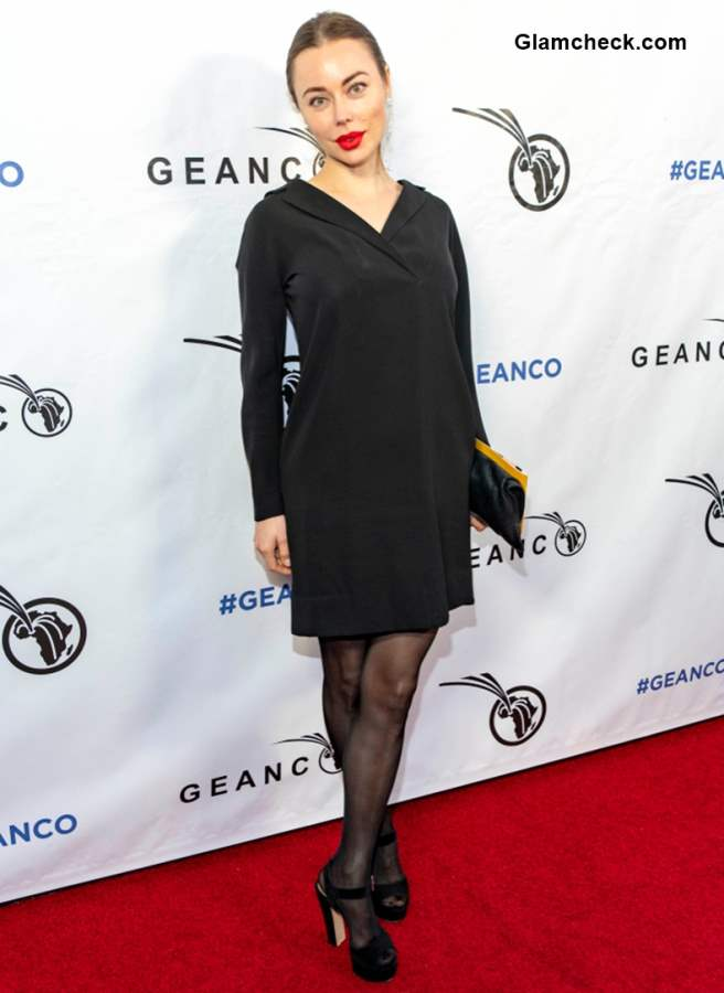 Dasha German at 2018 Geanco Foundation Hollywood Gala