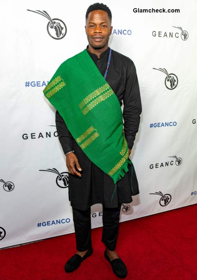Sam Adegoke at 2018 Geanco Foundation Hollywood Gala