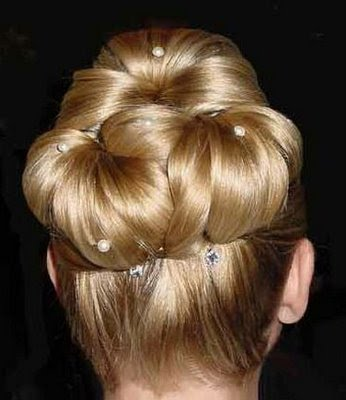 bridal_hairstyle for long hair- updo10