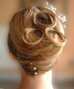 bridal_hairstyle for long hair- updo9