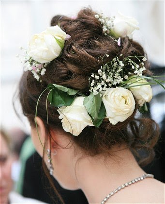bridal_hairstyle for short hair
