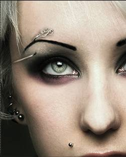 eyebrow piercing pictures -1