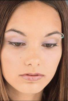 eyebrow piercing pictures girls