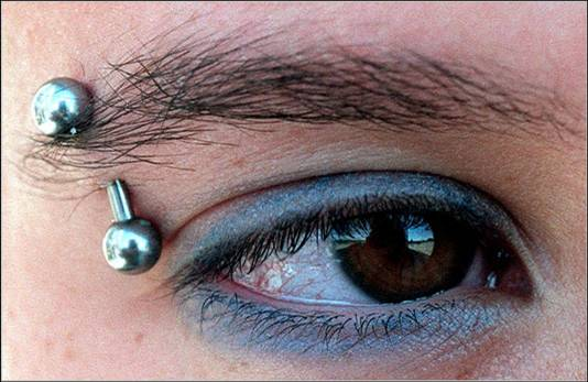 eyebrow piercing pictures -5