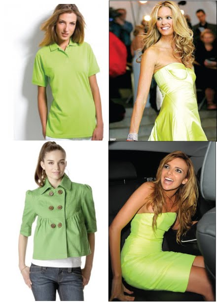 lime green for blondes2
