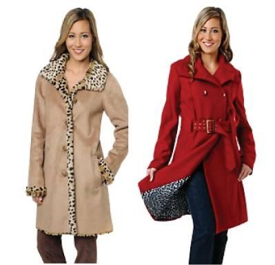 Animal print lining coats / jackets
